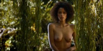 Nathalie Emmanuel nude - Game of Thrones s04e08 - 2014