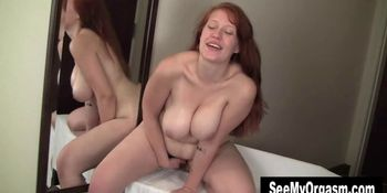 Big Titted Ginny Orgasming