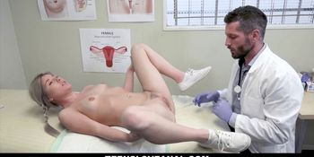 TeensLoveAnal - Yearly Checkup Ended Up Anal Sex