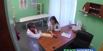 Doctors cock cures loud sexy horny patients ailments