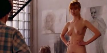 Christine Brücher  nackt