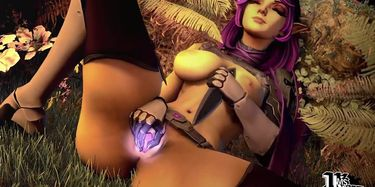Paladins Skye Practicing Well with Crystal Dildo 3d Animation [10 ...
