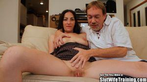 Wife traning com slut